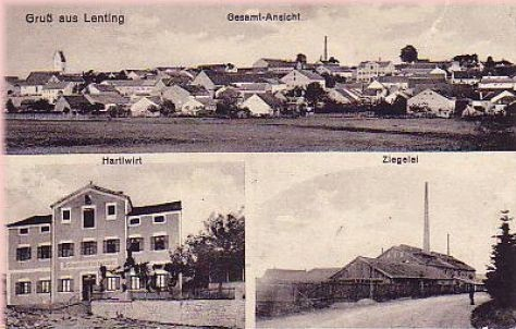 Ansichtskarte 1918